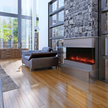 Amanti TruView Electric Fireplace