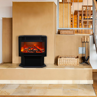 Sierra Flame Freestand Series Electric Fireplace Stove